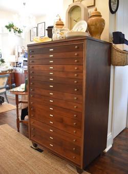 Vintage 5 Drawer MidCentury Dresser