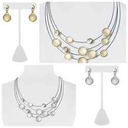 Cable Necklace with Dots