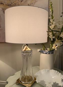 Vintage Crystal Lamp