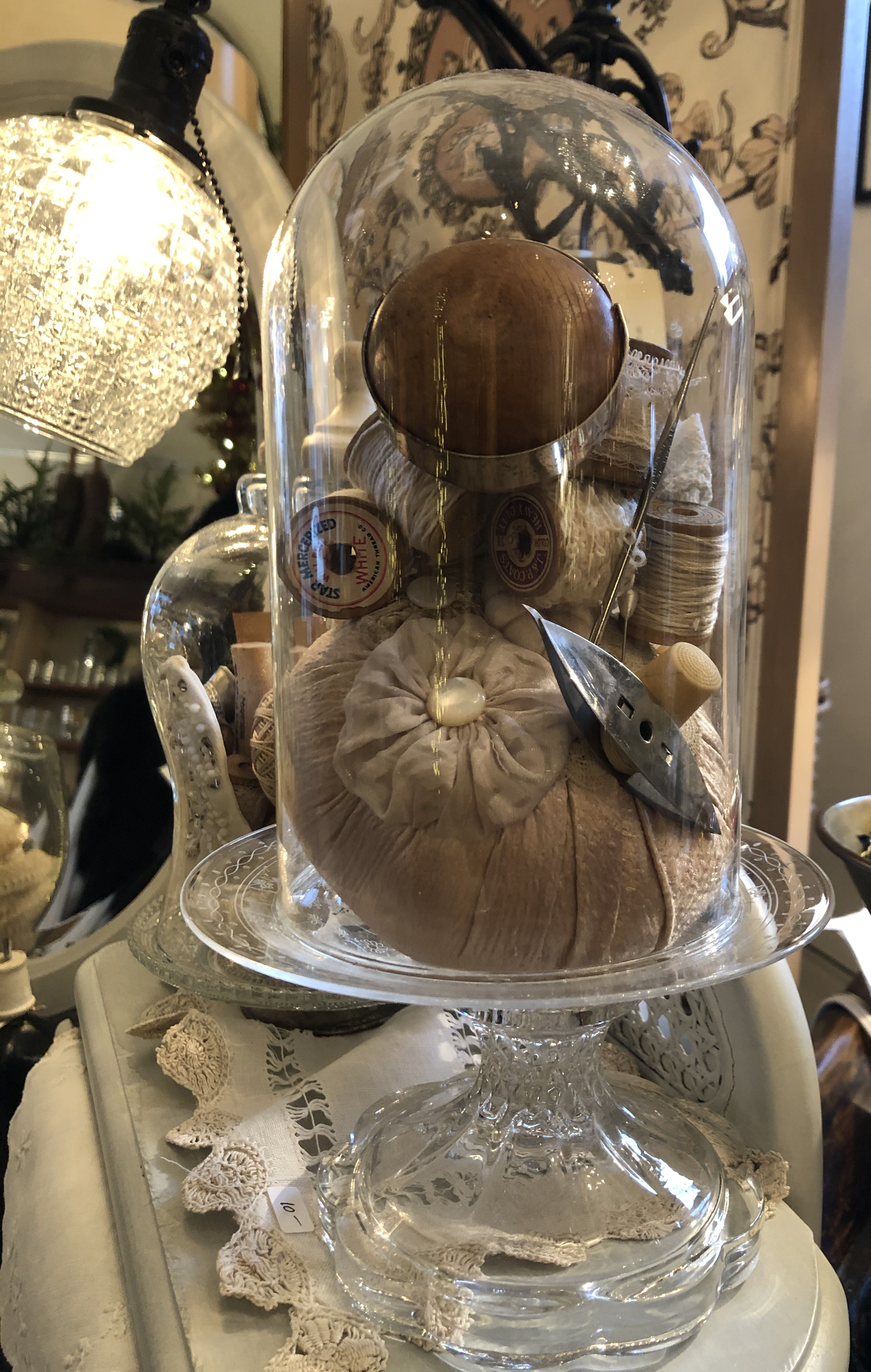 Vintage Cloche Displays