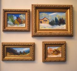 Original Framed Miniature Oil Series