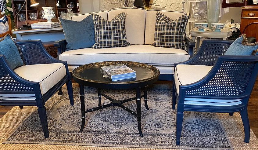 Vintage Sofa & Chair Set