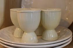 Antique Creamware Egg Cups