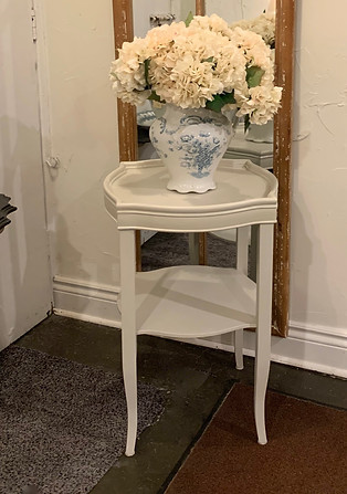Painted Vintage End Tables