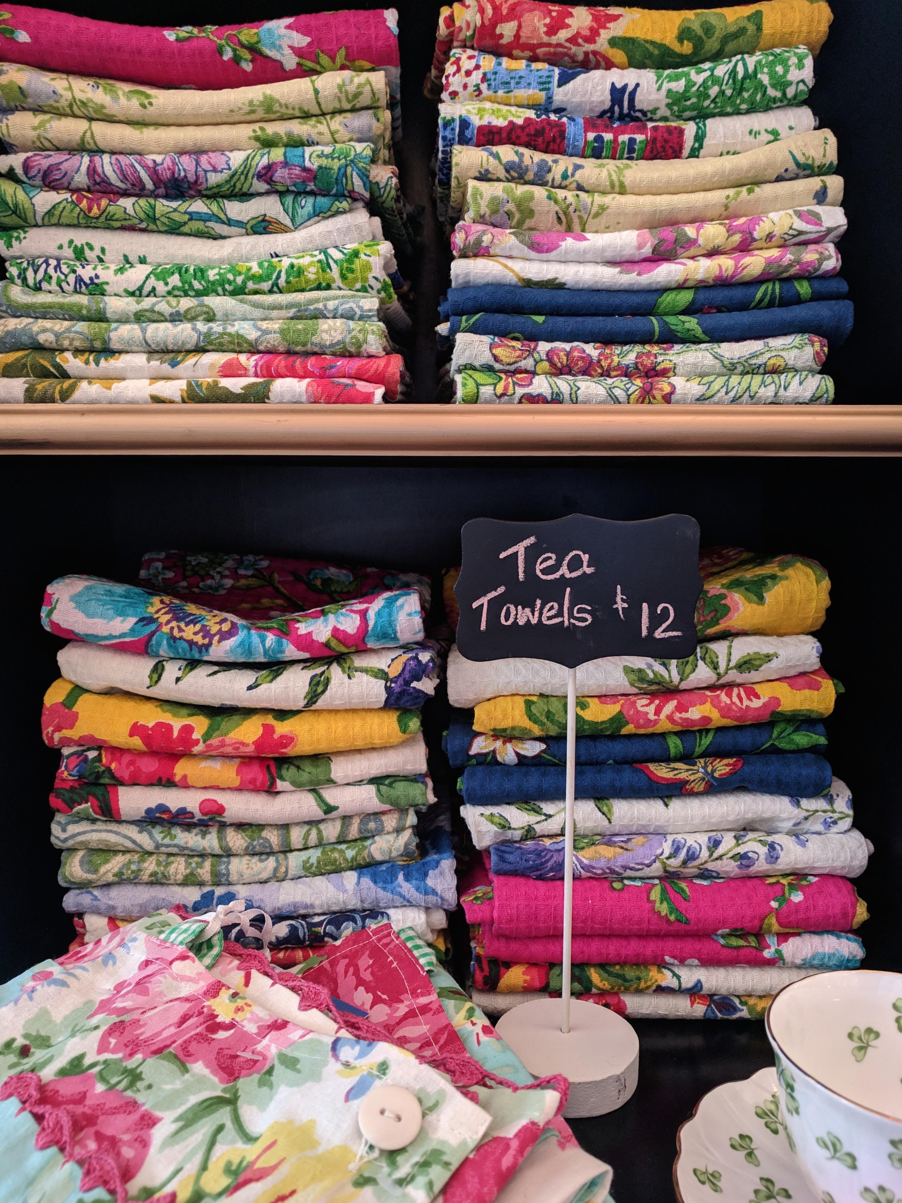 April Cornell Tea Towels
