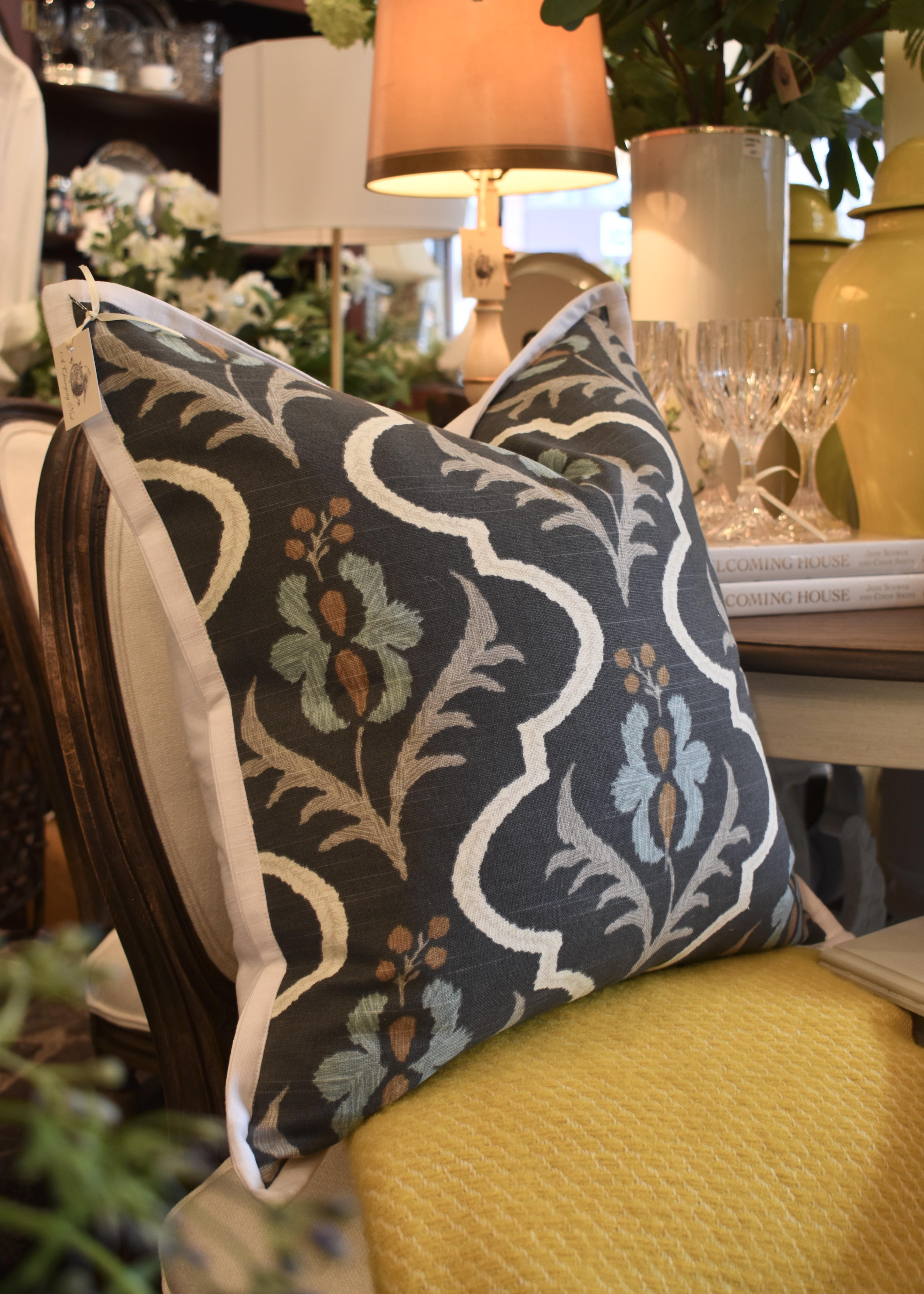Custom Cushion with Flange