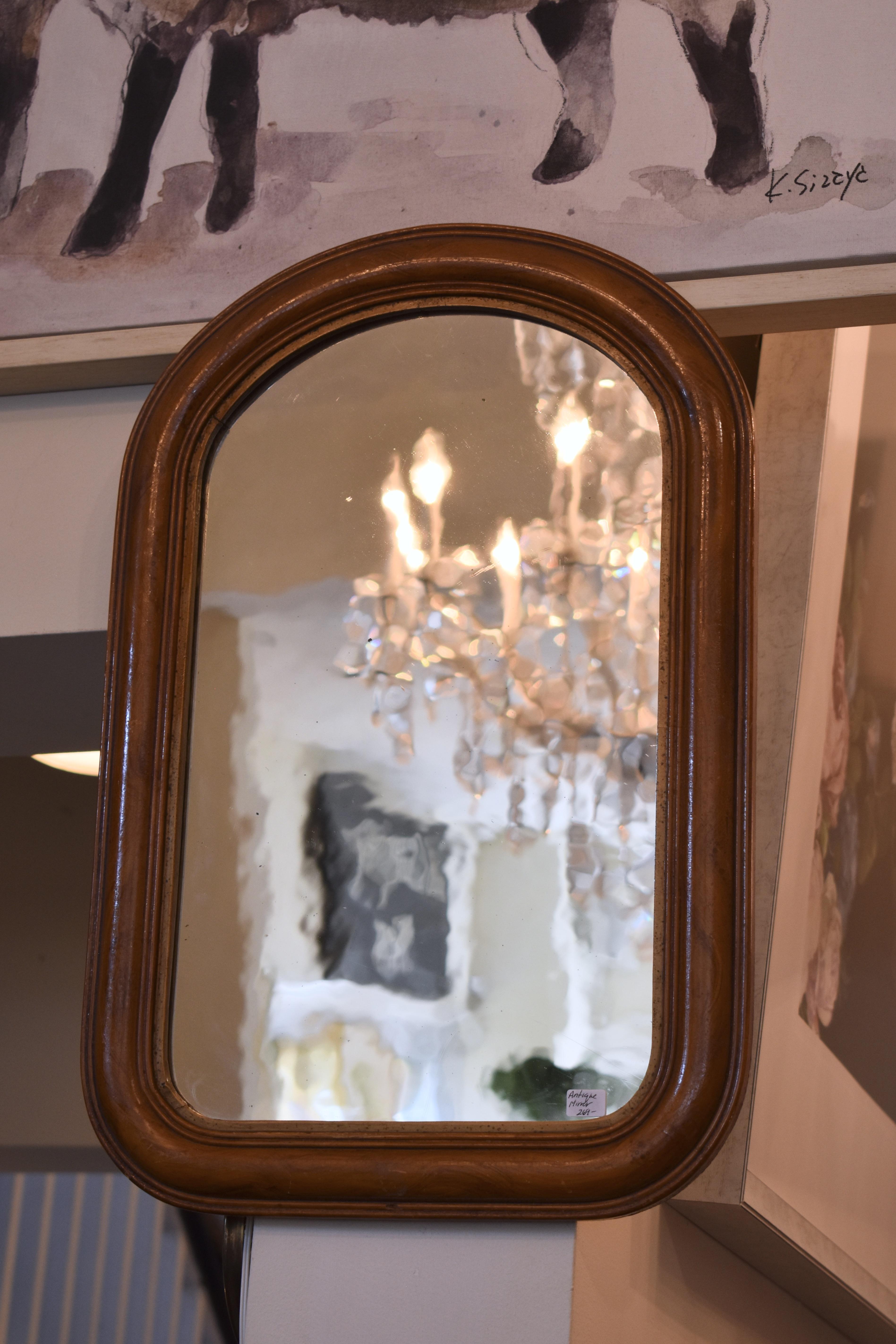 Antique Silver Mirror
