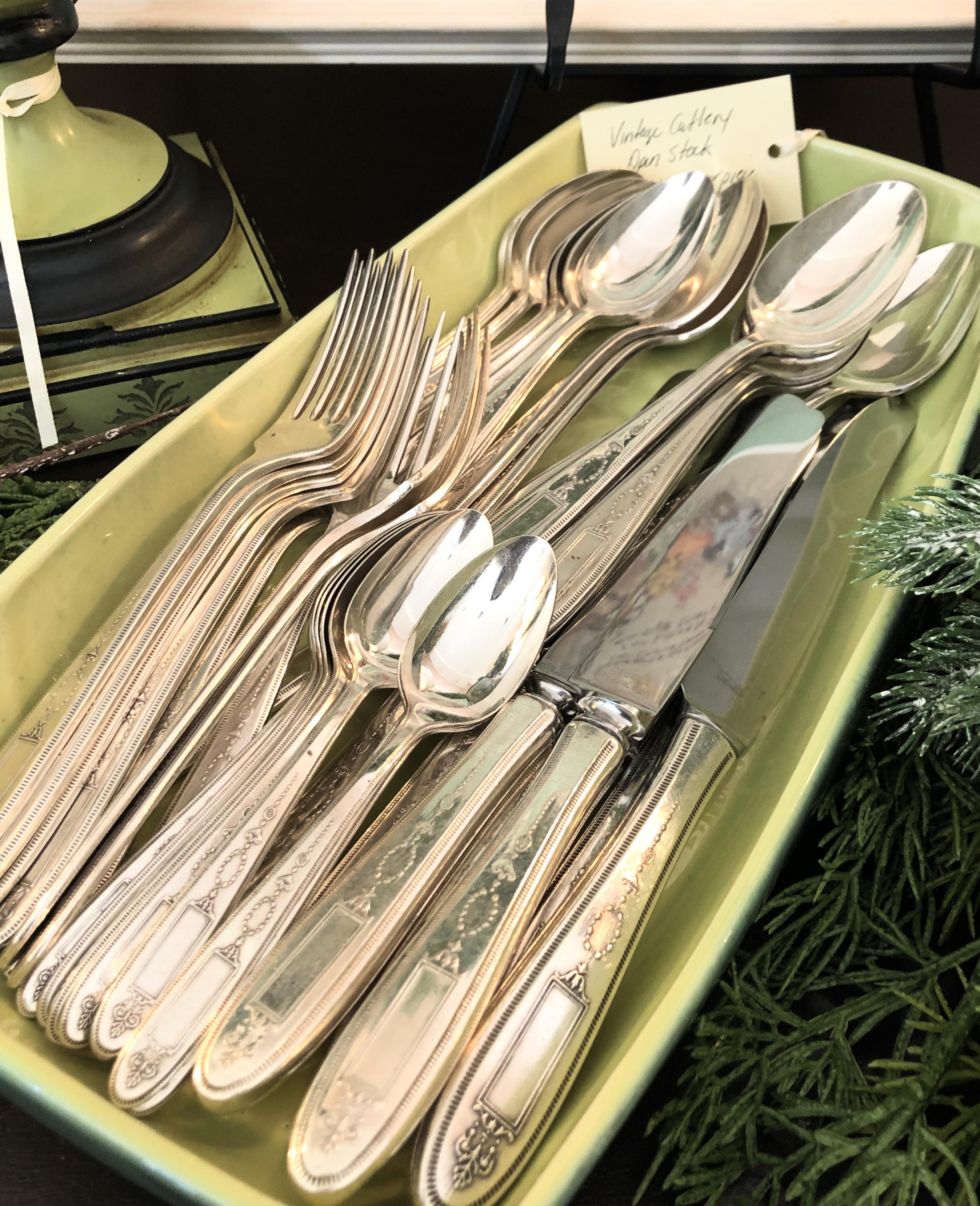 Open Stock Vintage Cutlery