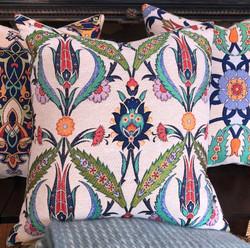 4 Tulip - Cotton Floral Cushions