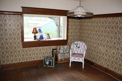 Dining Room / Backyard view