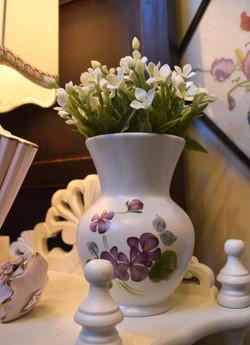 Vintage Handpainted Vase