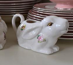 Ceramic Bunny Creamers