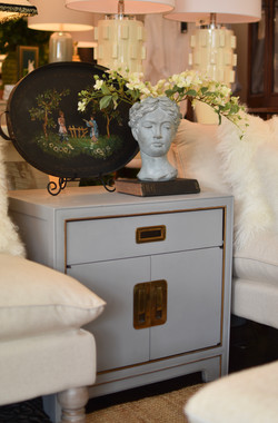Painted Heritage Art Shoppe End Table
