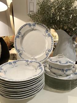 Vintage Bavarian Dish Set