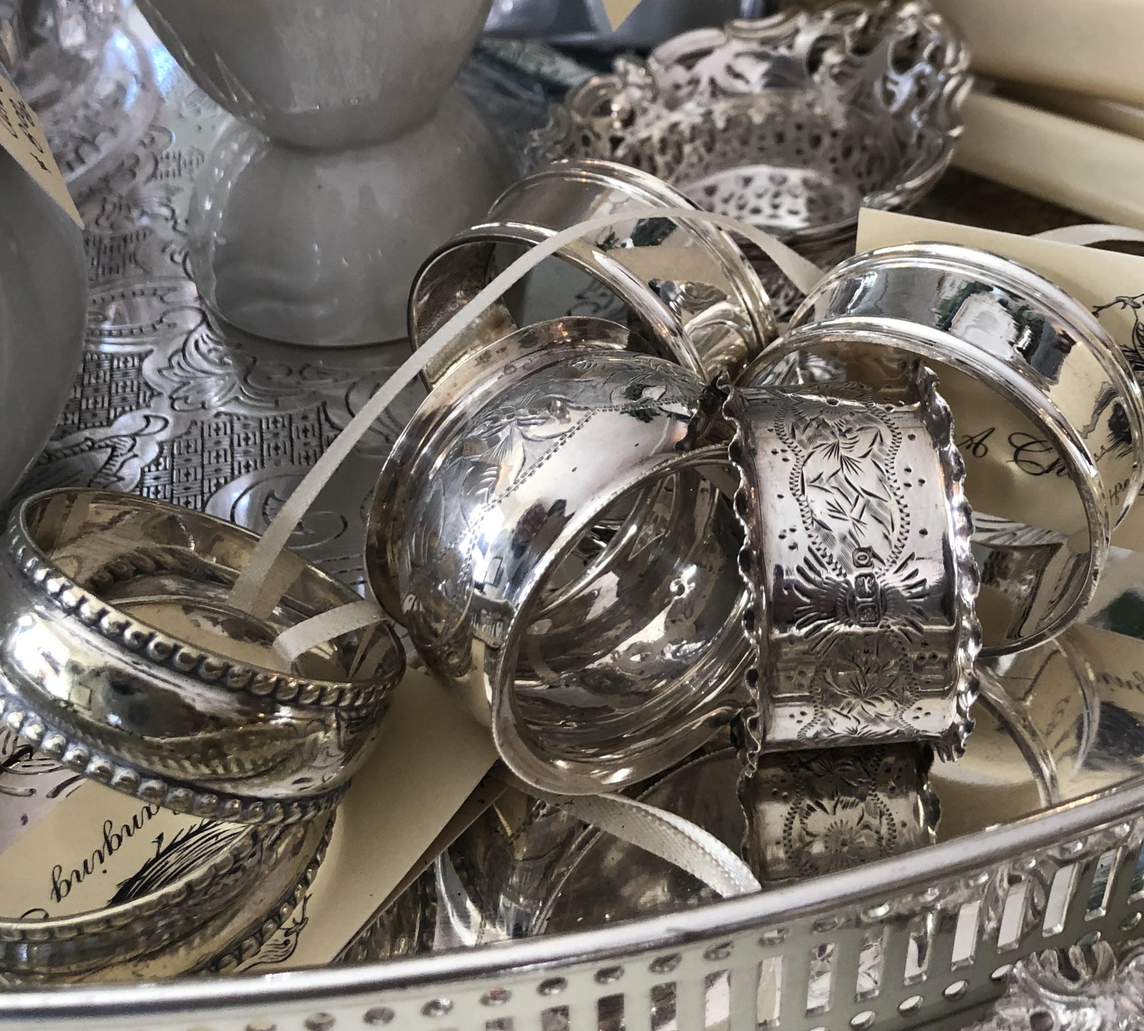 Vintage Silver Napking Ring