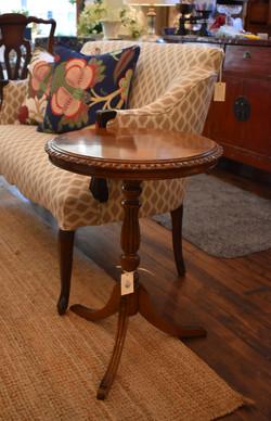 Vintage Pedestal Table w/ Pie Crust