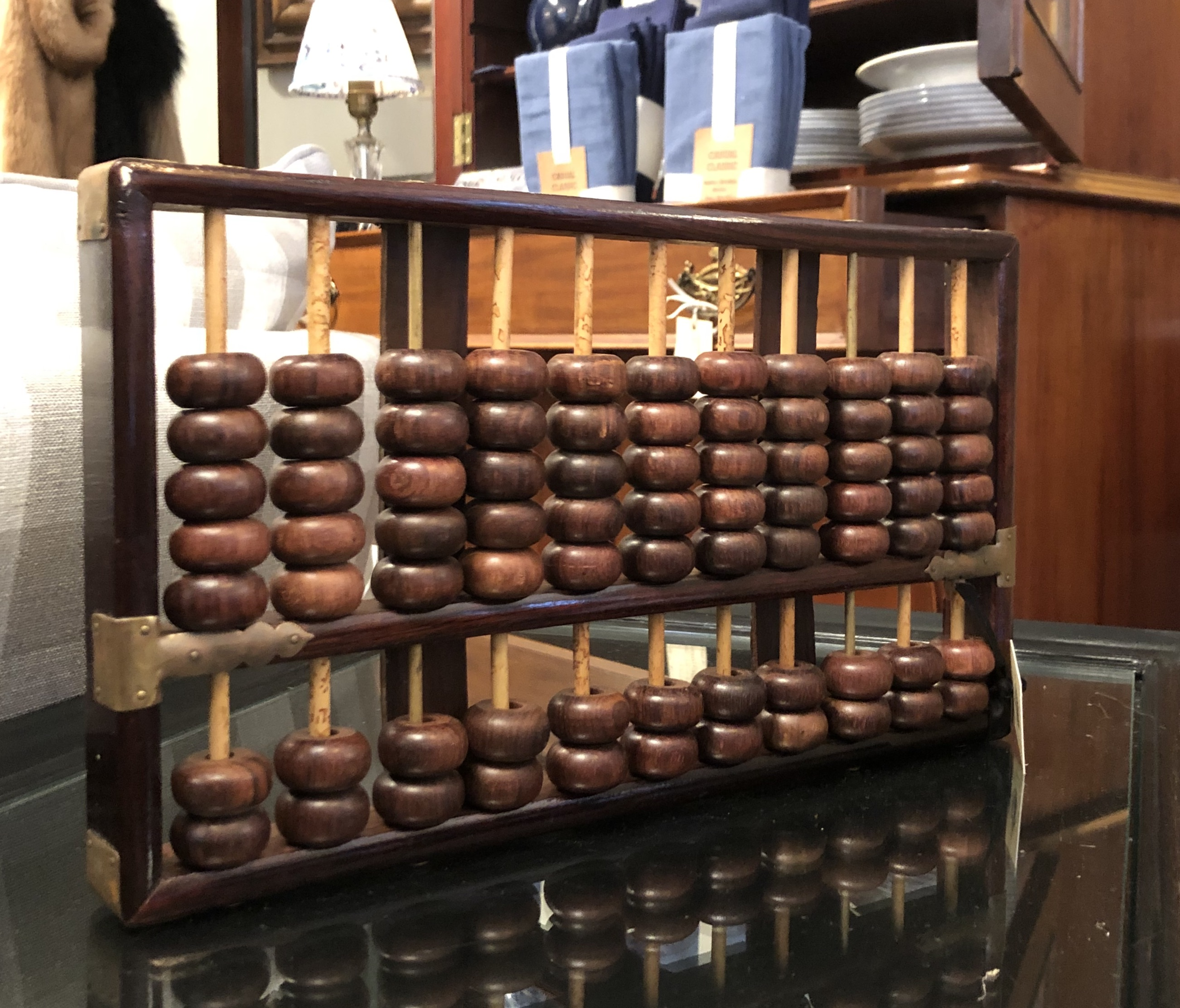 Rare Vintage Rosewood Abacus