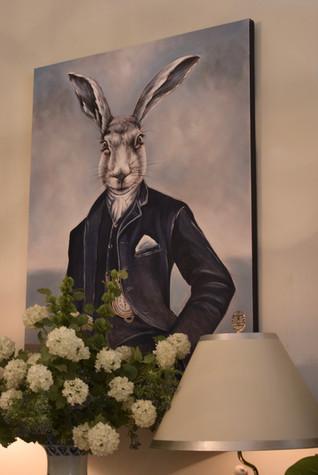 Painted Canvas - Stephens Rabbit