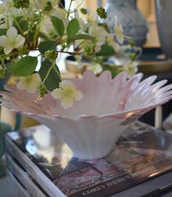 Vintage Murano Slag Glass Bowl