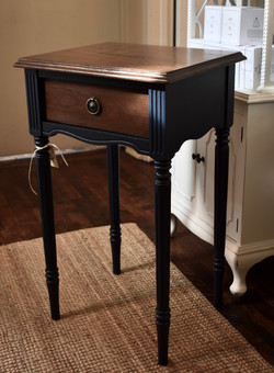 Small Painted Table with Drawer