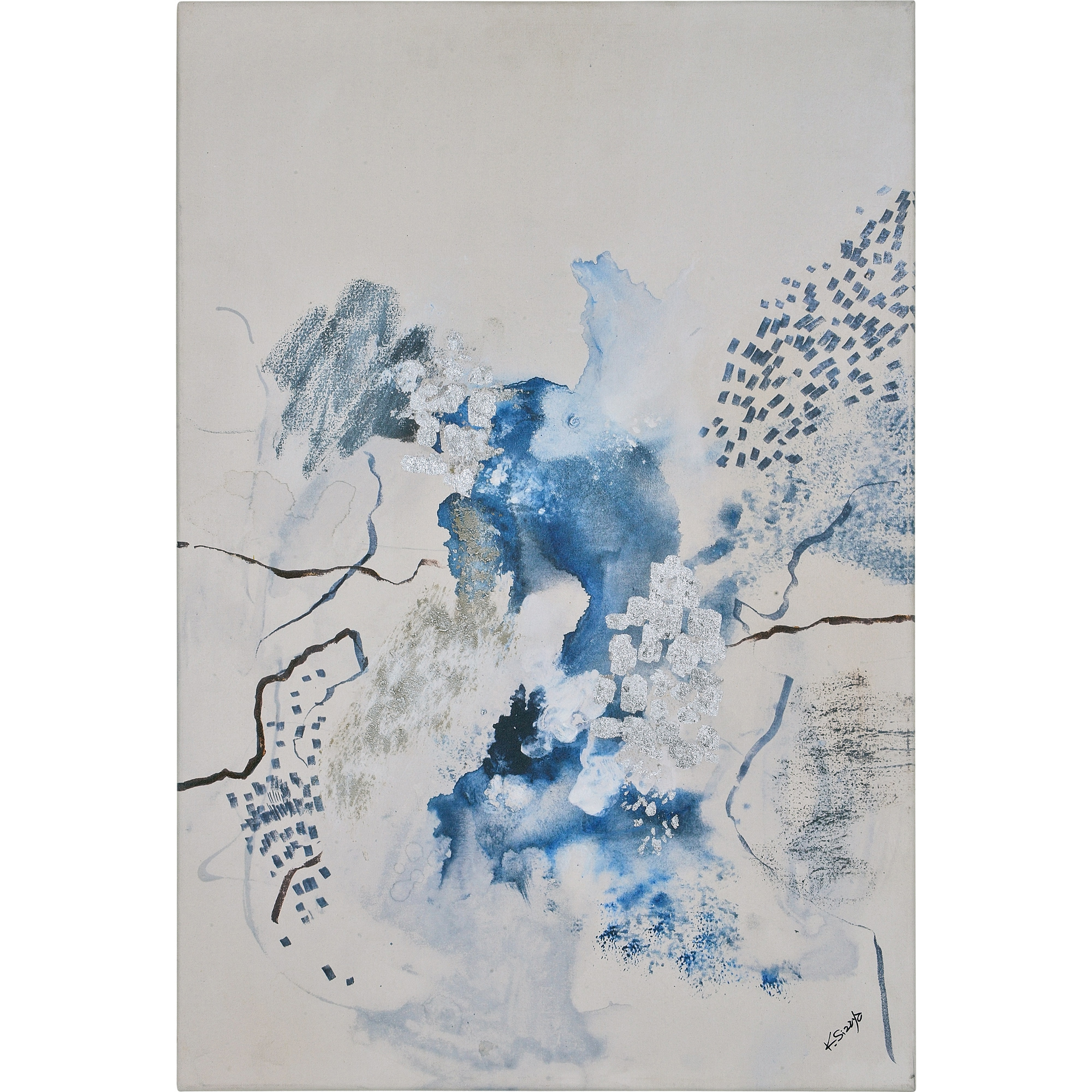 Modern Abstract Vernia Painting