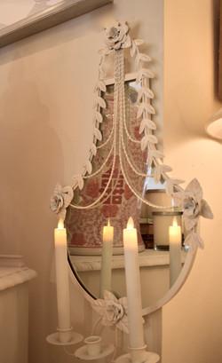 Vintage Sconce Mirror