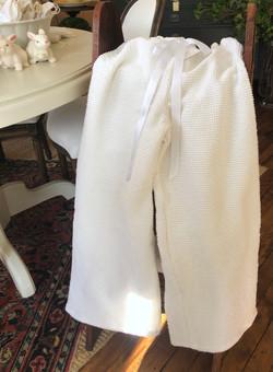 Comfy Vintage Chenille Lounge Pants