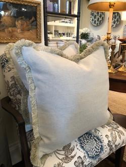 Custom Design Cushions - Pale Green