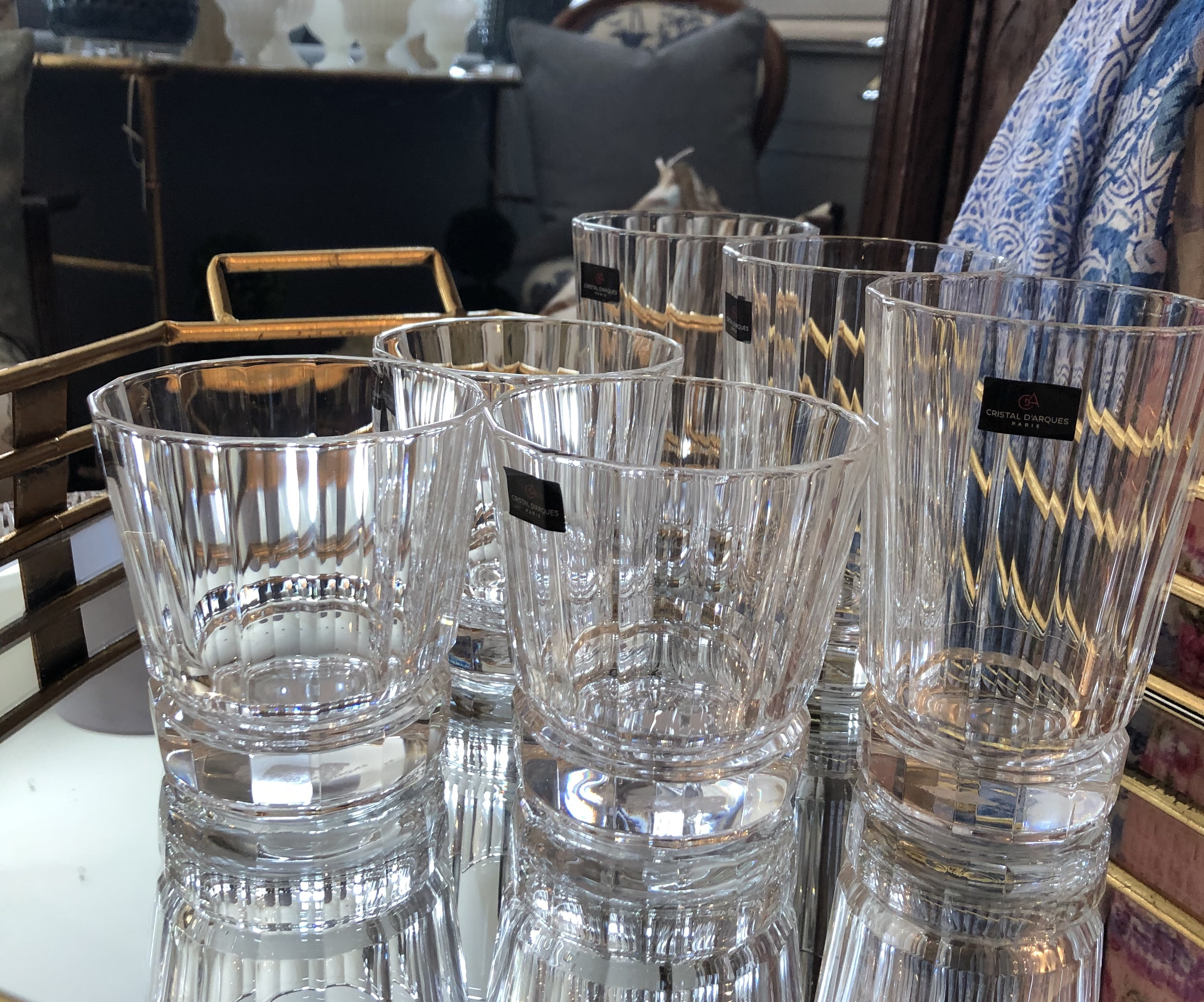 Crystal Drinking Glasses