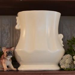 Vintage Creamware Vase