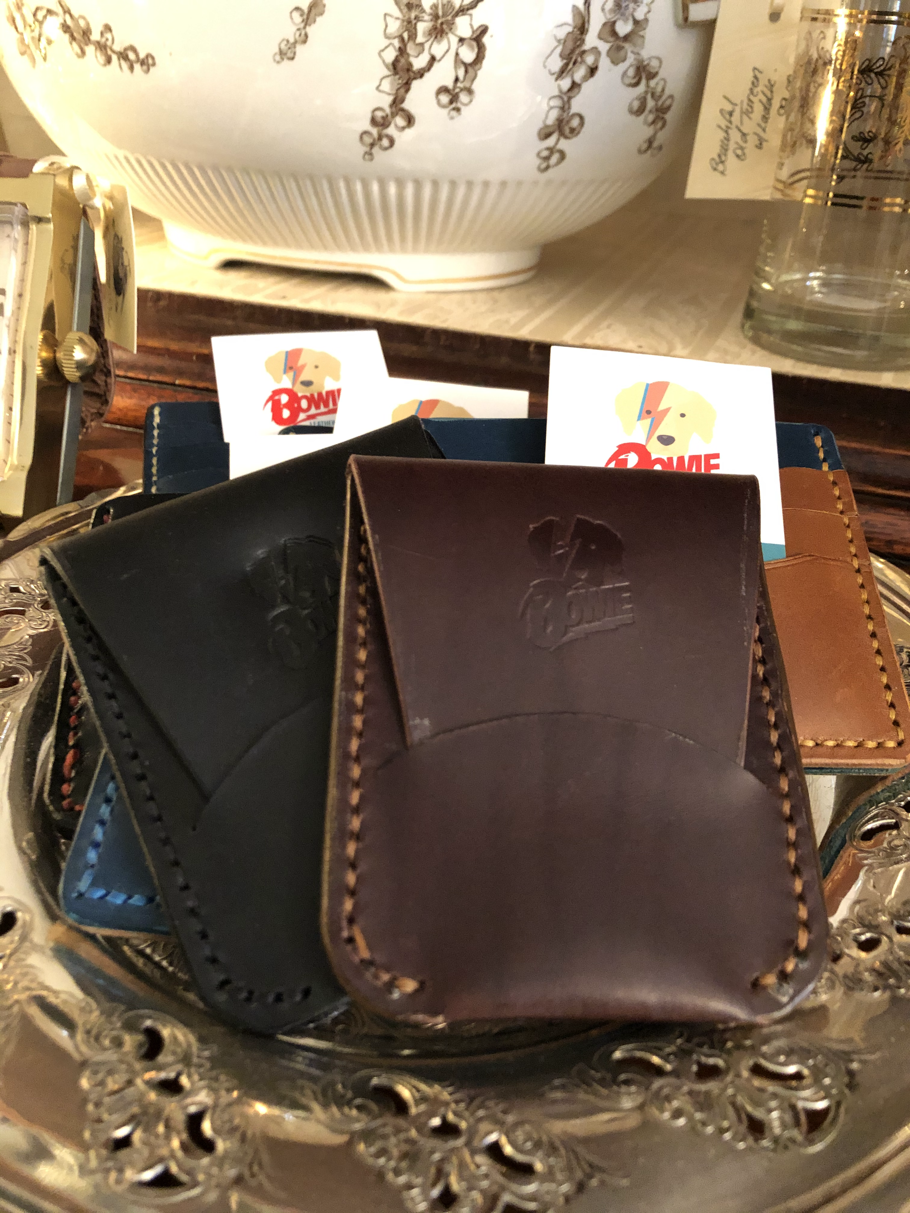 Bowie Leather Goods Small Wallet