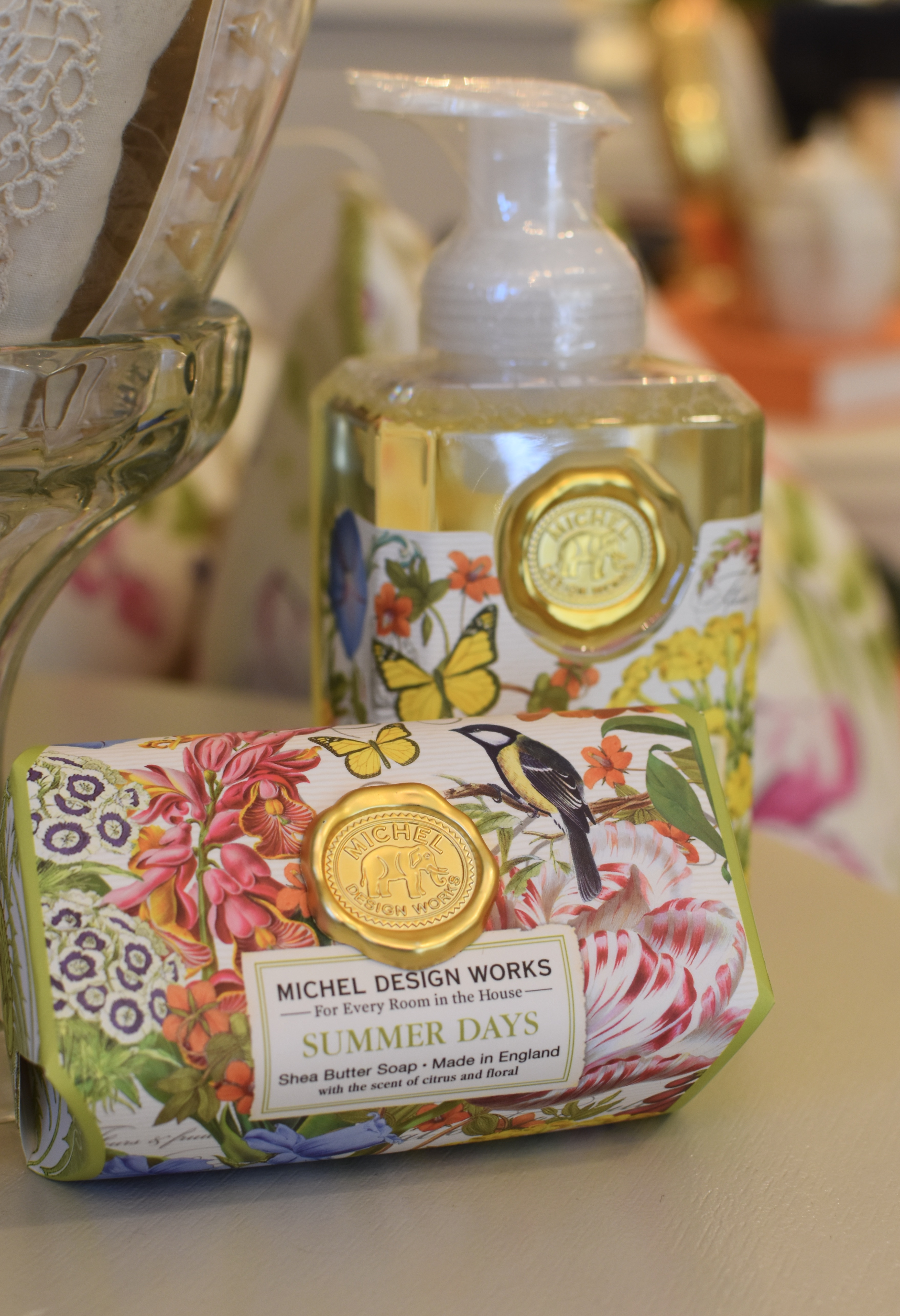 Summer Days Foaming Soap and Bar Soap