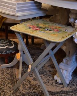 Vintage Handpainted Folding Table