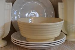 Antique Creamware Bowl