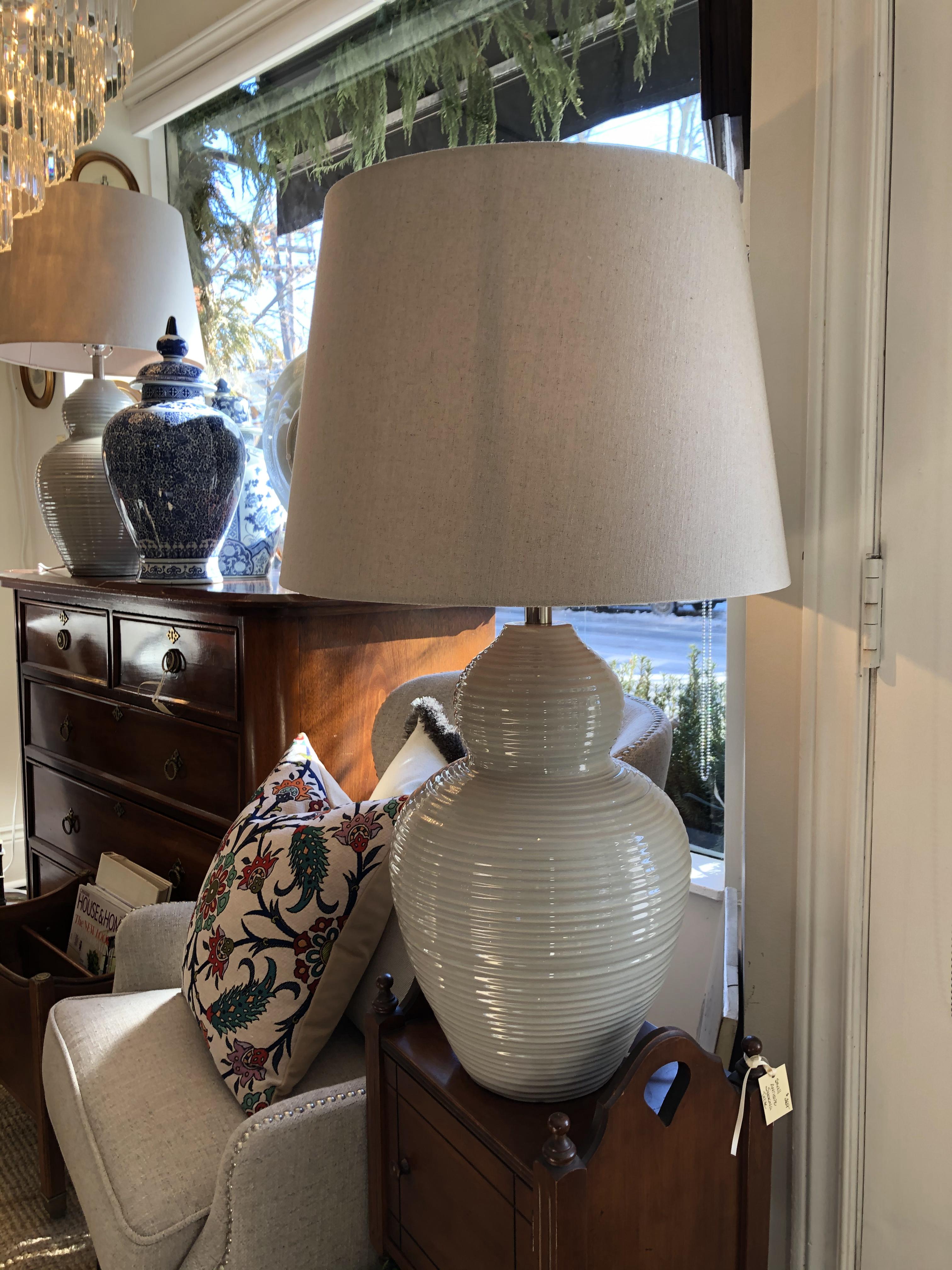 Large Ceramic Lamp