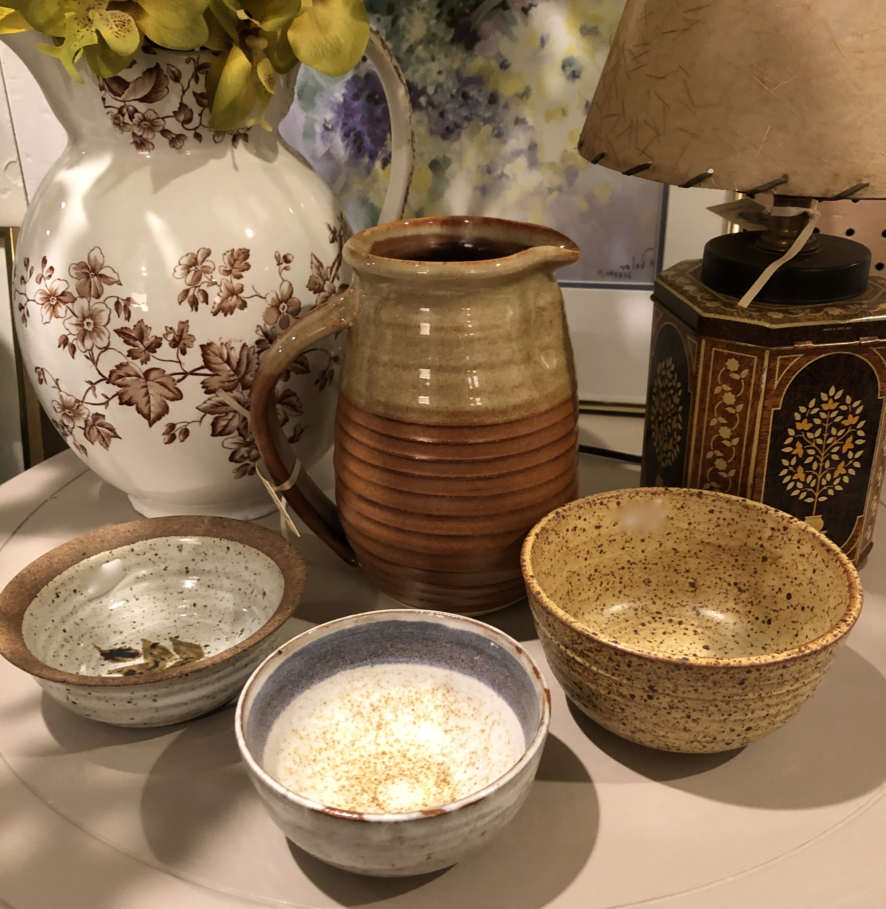 Assorted Stoneware Pieces