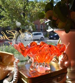 MidCentury Chalet Glass Bowl