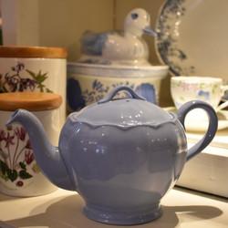 Petalware Blue Ceramic Teapot