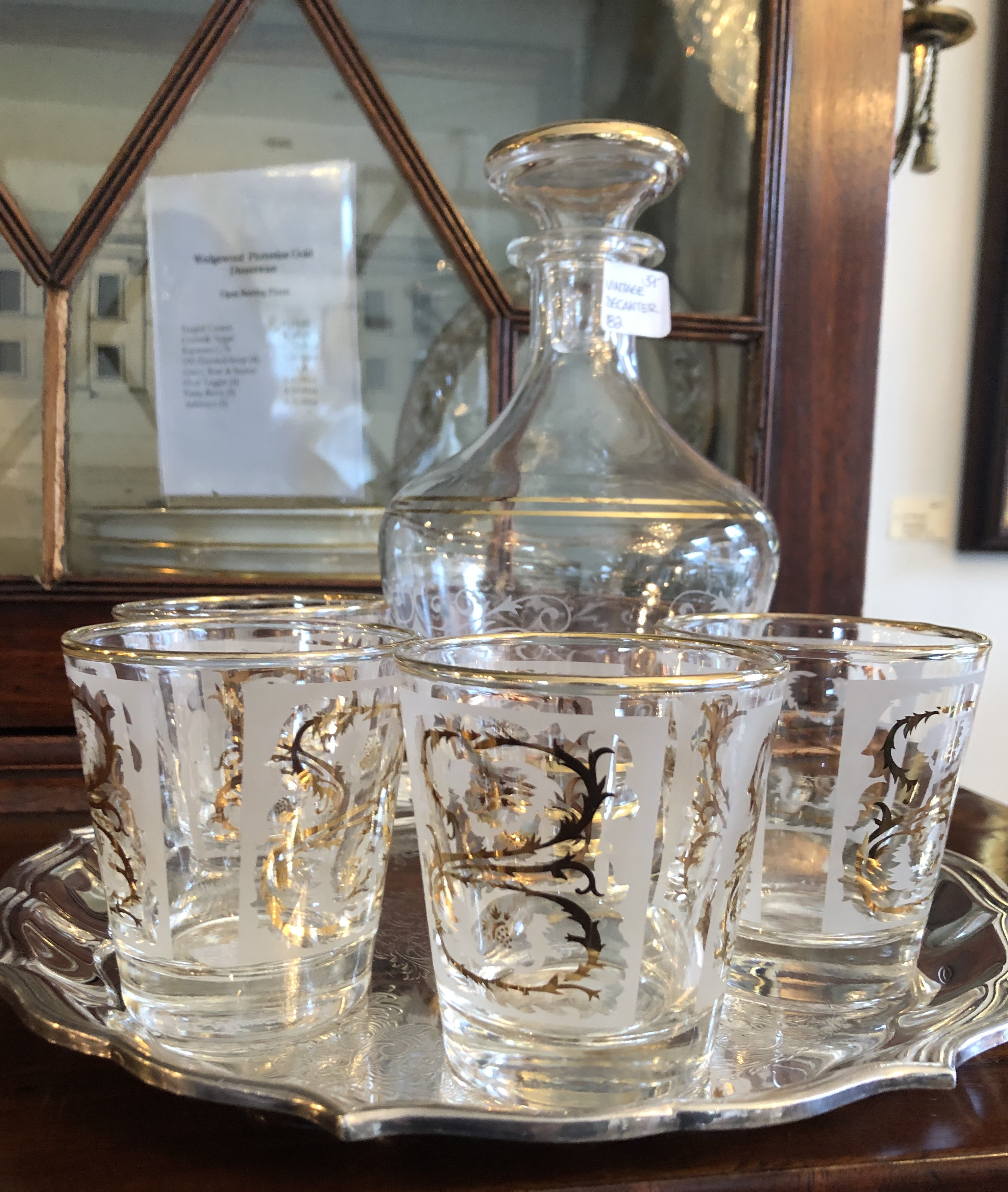 Vintage Low Ball Glasses