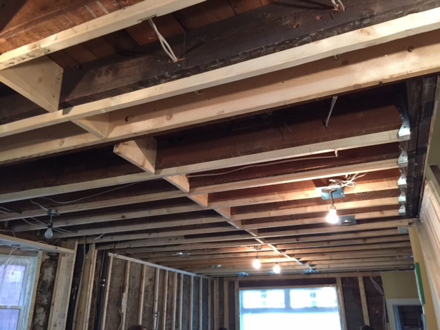 Contruction - Replaced Joists