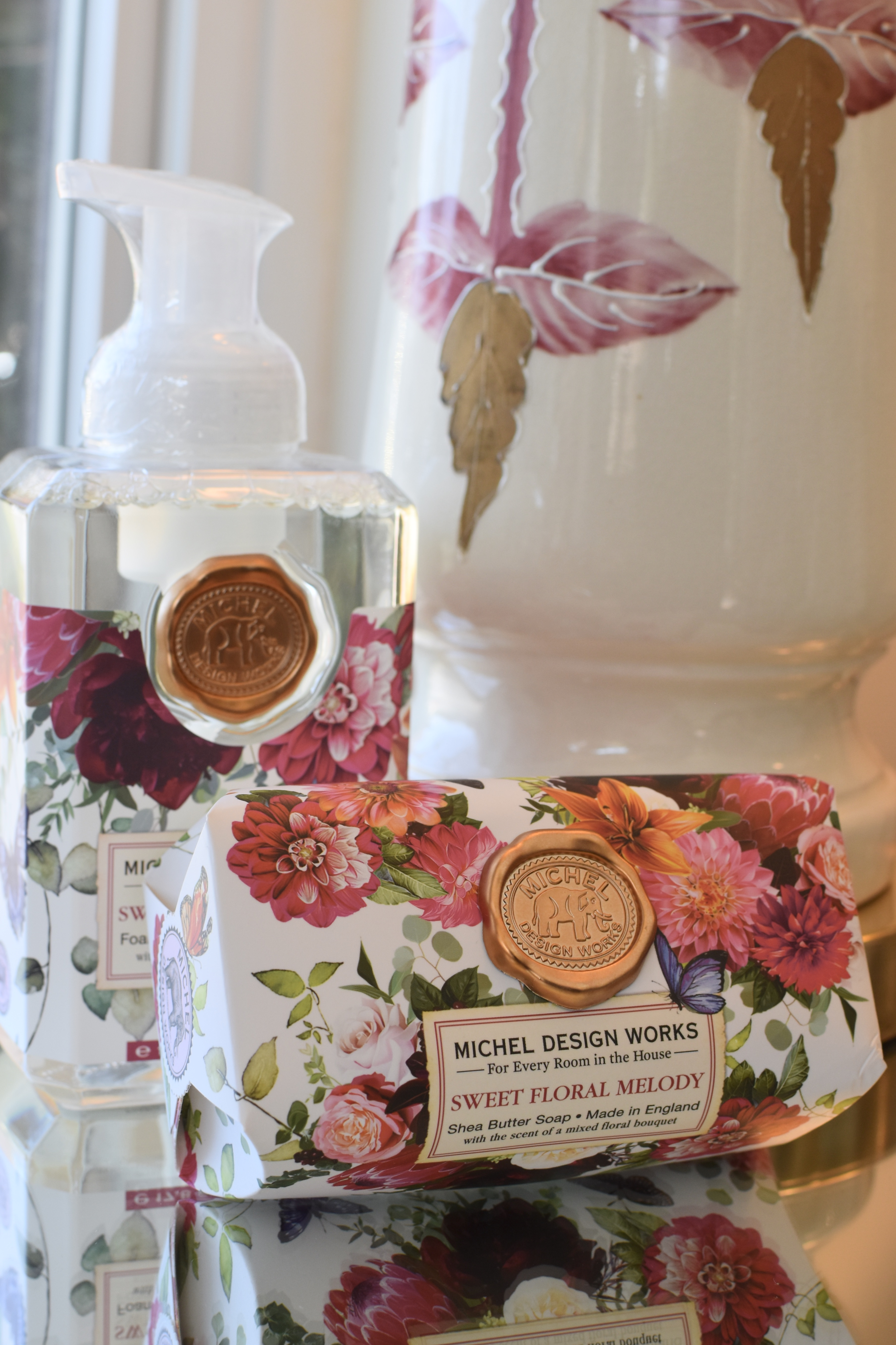 Sweet Floral Medley Foaming and Bar Soap