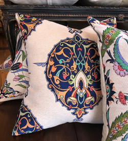Medallion II - Cotton Floral Cushions