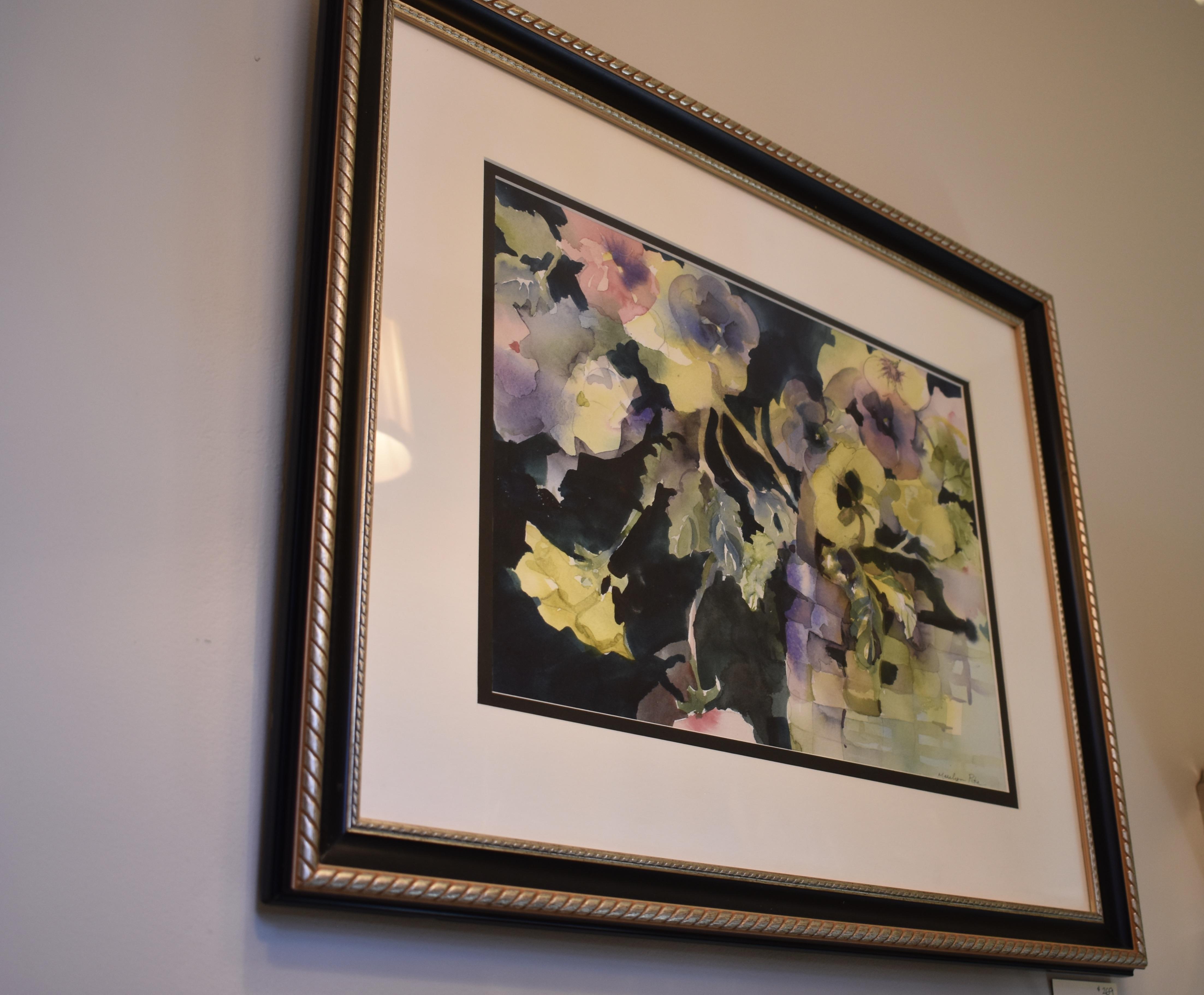 Framed Original Marilyn Pike Watercolour