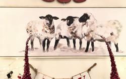Large Sheep Art