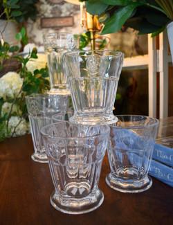 Fleur De Lis Tumblers and Juice Glasses