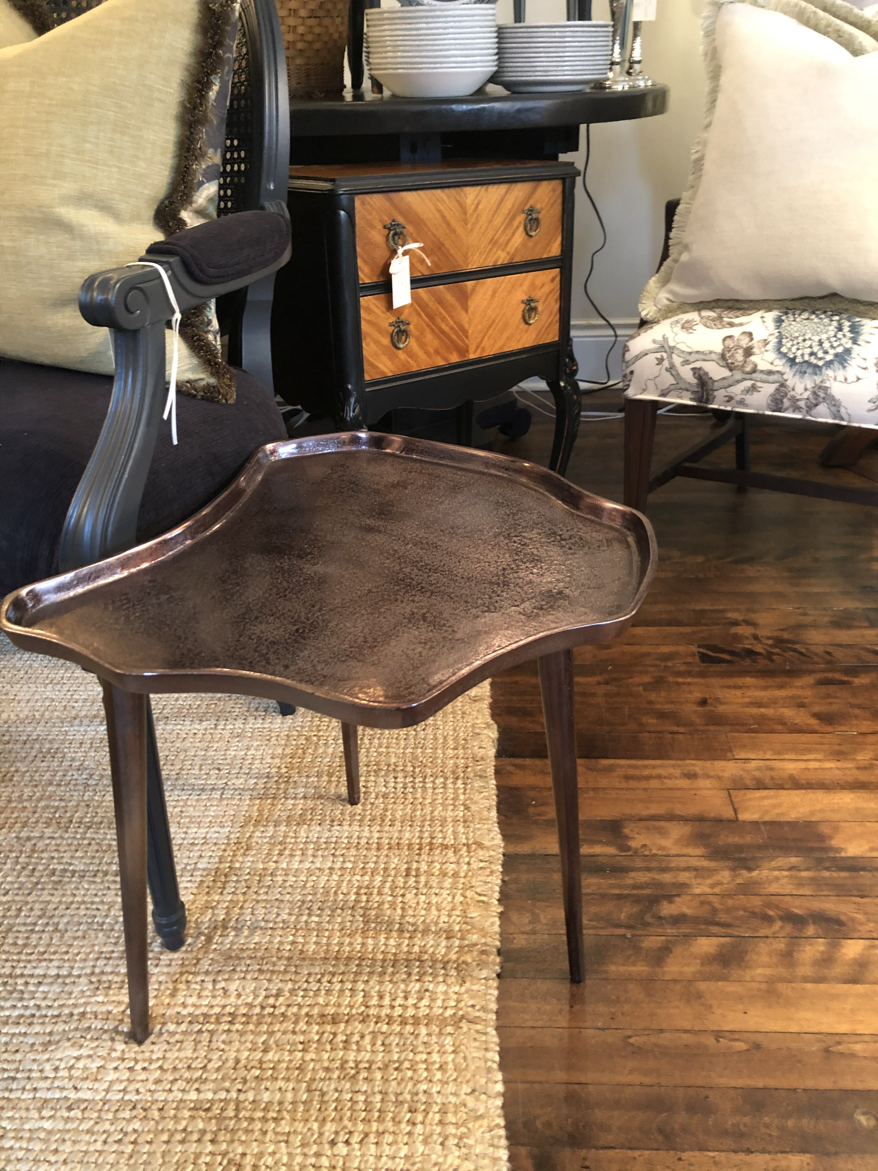 Modern Organic Shaped Occasional Table