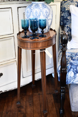 Unusual Small Table with Pie Crust Top