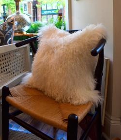 18x18_ Mongolian Fur Cushion