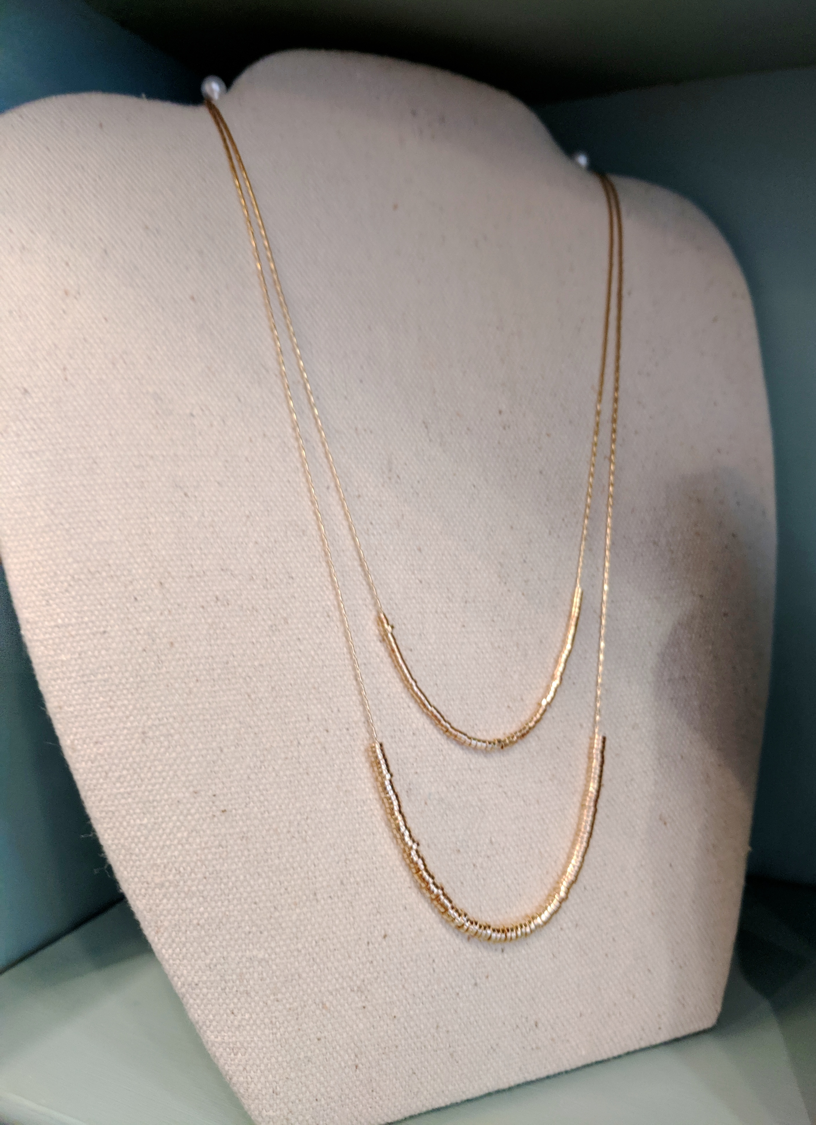 Two-Tiered Necklace