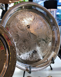 Assorted Silver Plated Trays